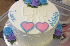 2499, blue, purple, hearts, roses, white, bow, pink
