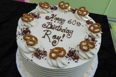 3317, 60th birthday, sixtieth birthday, pretzel, pretzels, chocolate, white, nut crunch
