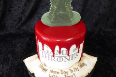 3382, name day, game of thrones, blood, drip, iron throne, red, white, edible image