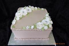 3123, bridal shower, white, green, silver, purple, flower, flowers