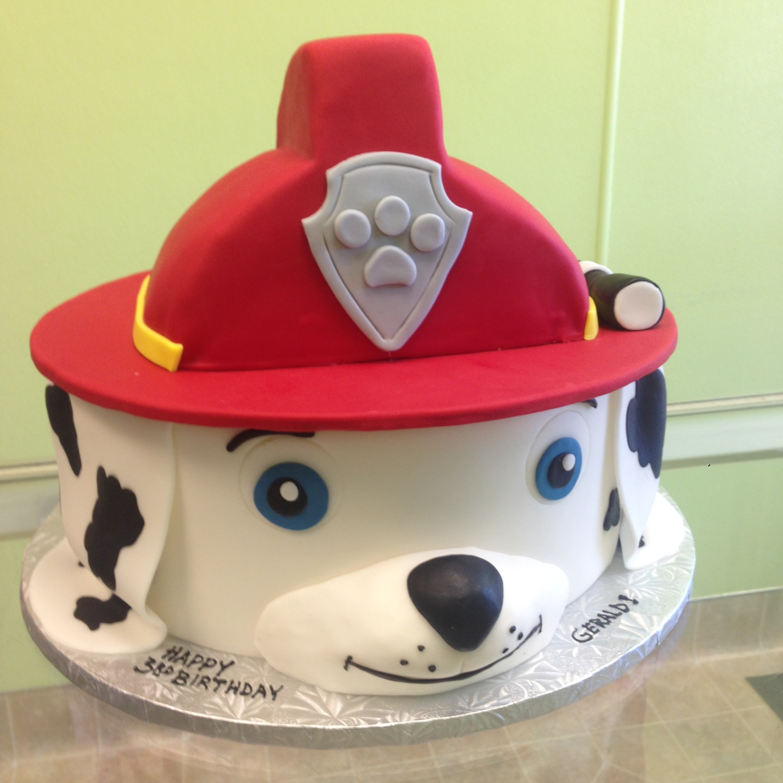 2976, third birthday, 3rd birthday, paw patrol, marshal, fire fighter, red, dog, dalmation