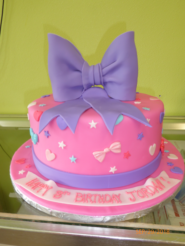 3264, 8th birthday, bow, bows, star, stars, pink, purple, blue
