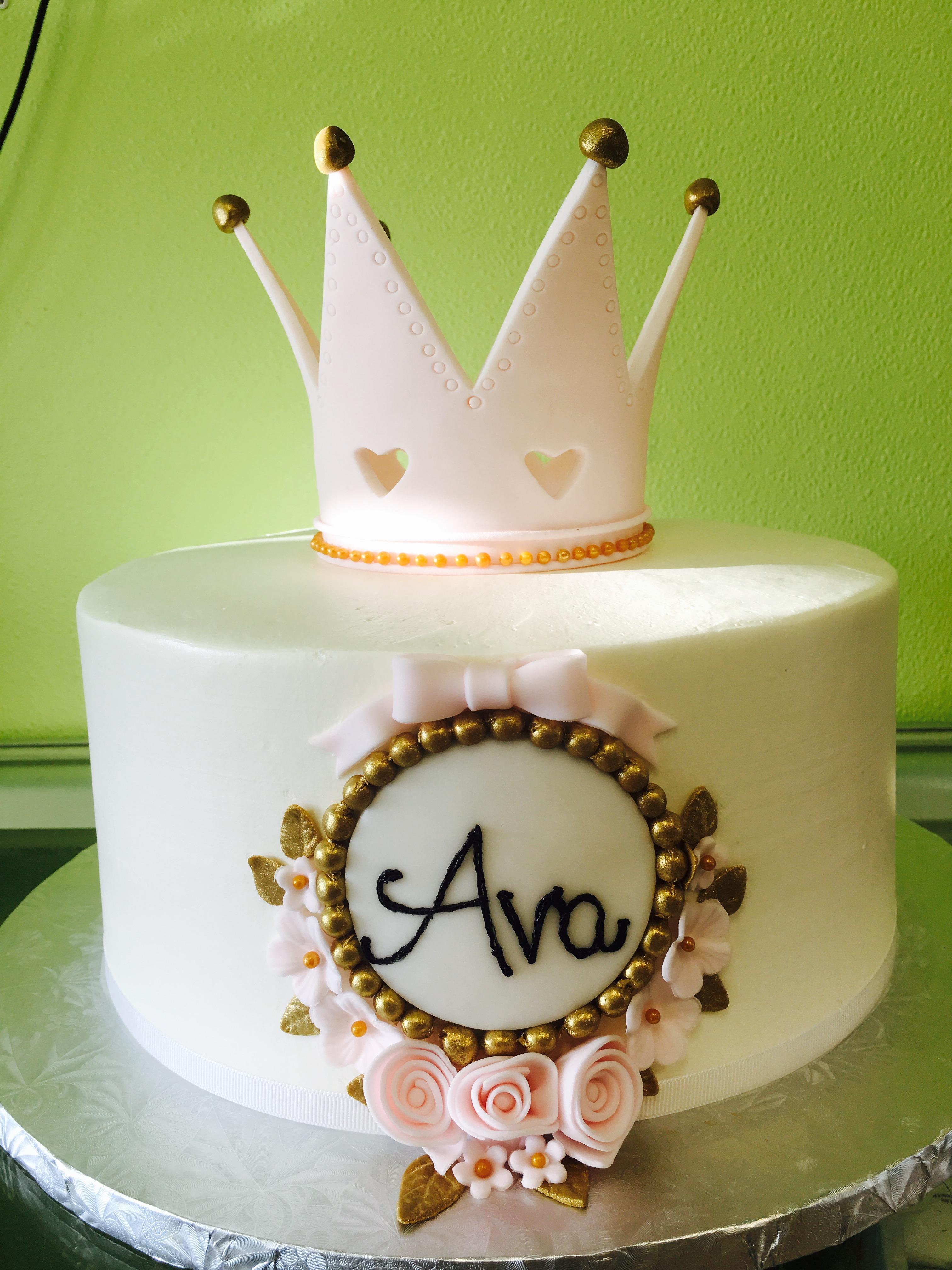 3049, birthday, princess, crown, tiara, queen, pink, white, gold, heart, hearts, flower, flowers