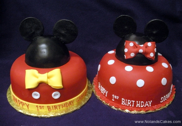 2154, first birthday, 1st birthday, mickey mouse, minnie mouse, red, yellow, black, white, dots, dot, disney, ears