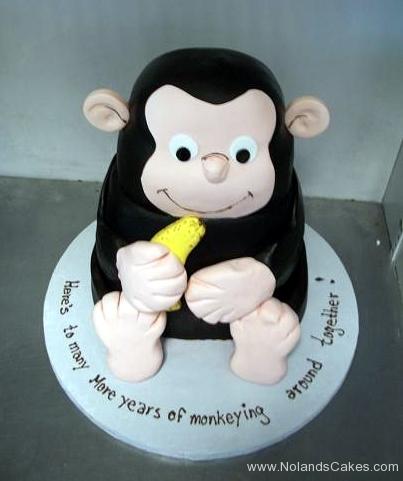 2182, birthday, monkey, curious george, banana, carved