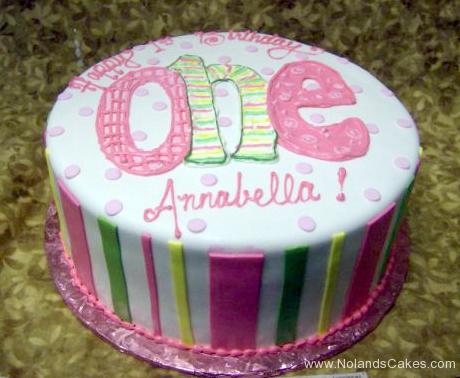 2228, first birthday, 1st birthday, pink, green, yellow, white, stripe, stripes, dot, dots