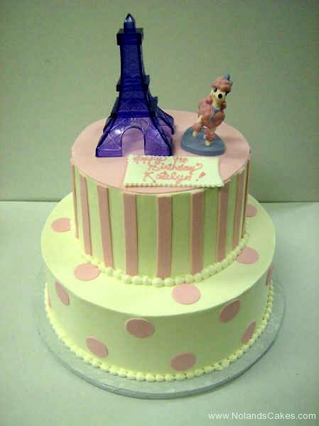 2238, first birthday, 1st birthday, ninth birthday, 9th birthday, paris, france, poodle, pastel, eiffel tower, tiered