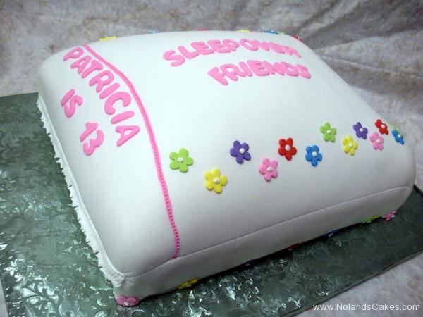 2254, 13th birthday, thirteenth birthday, sleepover, pillow, pillow case, flower, flowers, carved, white