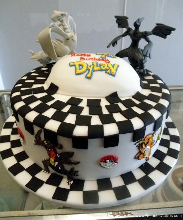 2280, 7th birthday, seventh birthday, pokemon, pokemon go, figures, black, white, carved