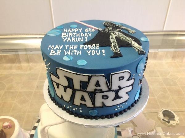 2394, sixth birthday, 6th birthday, star wars, darth vader, blue, space, spaceships, spaceship