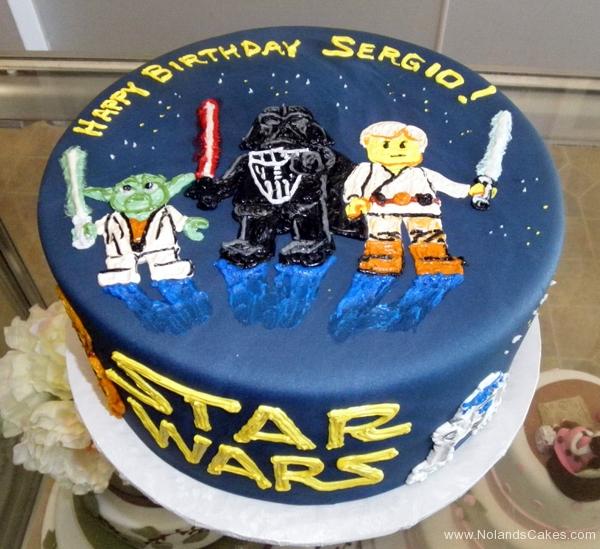 2403, birthday, star wars, lego star wars, luke, darth vader, yoda, c3po, space, spaceship, spaceships