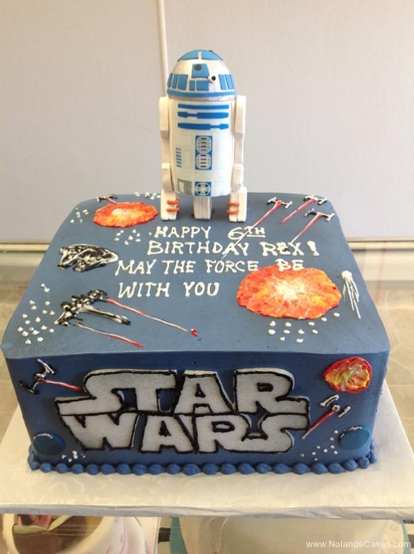 2405, 6th birthday, star wars, r2d2, space, space ship, spaceships