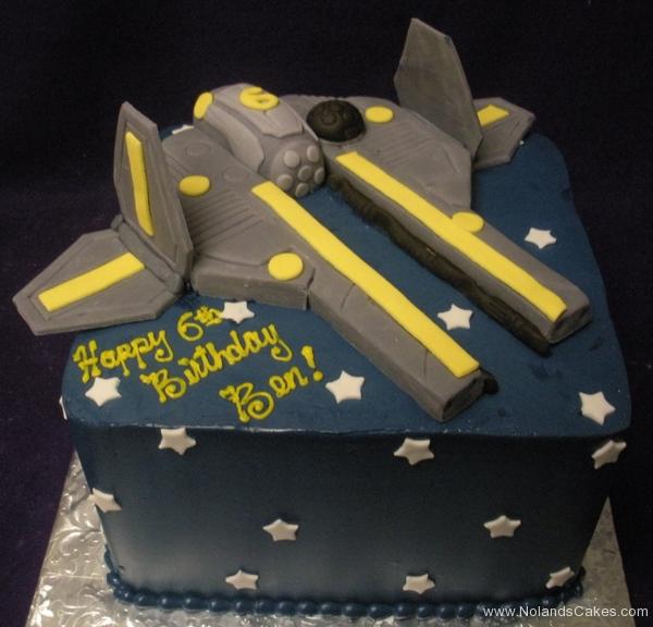 2388, 6th birthday, sixth birthday, star wars, ship, star, stars, space, blue