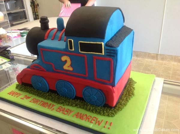 2424, 2nd birthday, second birthday, thomas the tank engine, thomas, train, trains, blue, red, carved
