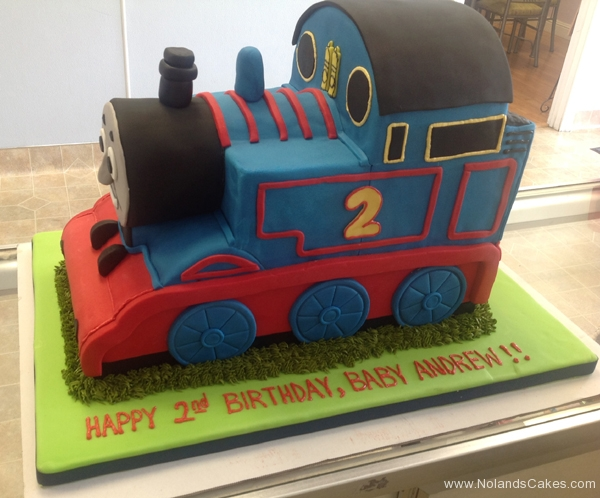 2419, 2nd birthday, second birthday, thomas the tank engine, thomas, train, trains, blue, red, carved