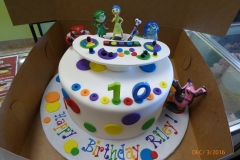 3034, tenth birthday, 10th birthday, inside out, white, primary, blue, green, red, yellow, control panel, emotions