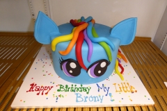 3035, birthday, my little pony, rainbow dash, brony, blue, rainbow