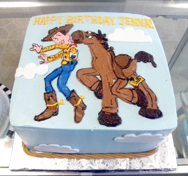 2432, birthday, toy story, woody, bullseye, pixar, horse, blue, brown