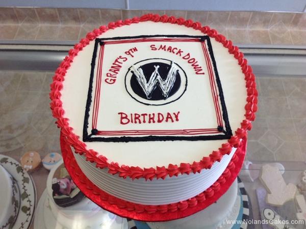 2486, 9th birthday, ninth birthday, wwe, wrestling, ring, black, white, red