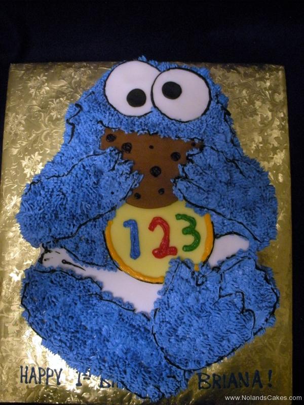 181, cookie monster, sesame street, cookie, first birthday, 1st birthday, birthday, baby