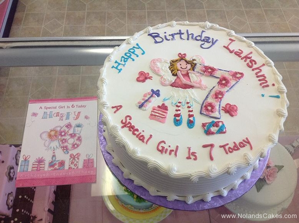 206, birthday, 7th birthday, seventh birthday, pink, purple, white, blue, flowers, butterfly, butterflies, fairy, fairies