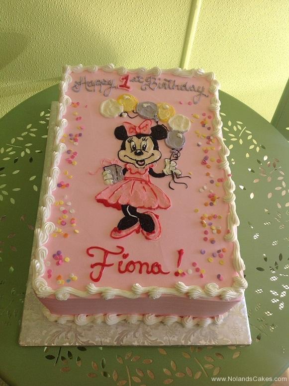 312, first birthday, 1st birthday, minnie mouse, disney, minnie, pink, balloons,