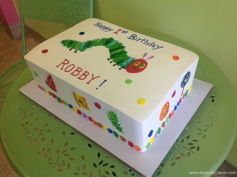 681, first birthday, 1st birthday, the very hungry caterpillar, story book, eric carle, square, caterpillar, colorful, simple