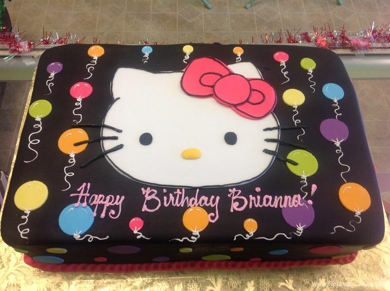 435, hello kitty, cat, birthday, balloons, balloon, black, neon, bright, brights, neons