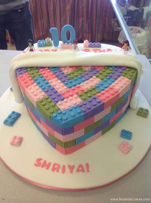 747, tenth birthday, 10th birthday, lego, legos, blue, purple, green, pink
