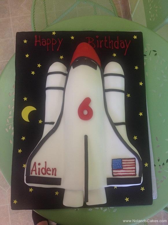 523, 6th birthday, sixth birthday, space, space ship, space shuttle, rocket, sky, night, star, stars, white, black