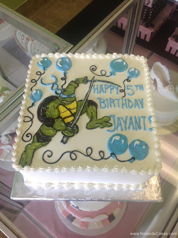 895, 5th birthday, fifth birthday, leonardo, tmnt, teenage mutant ninja turtles, turtle, balloon, balloons, blue, green, white