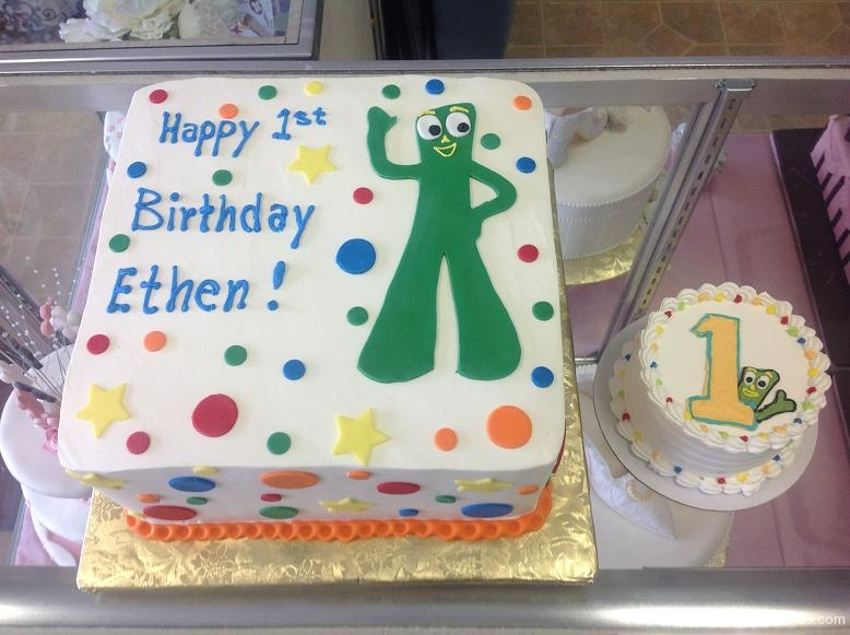 1080, first birthday, 1st birthday, gumby, dots, star, stars, dot, green, white, primary, smash cake