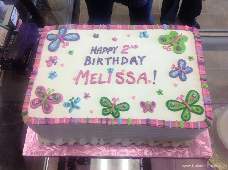 1086, 2nd birthday, second birthday, butterfly, butterflies,  flower, flowers, pink, purple, blue, green