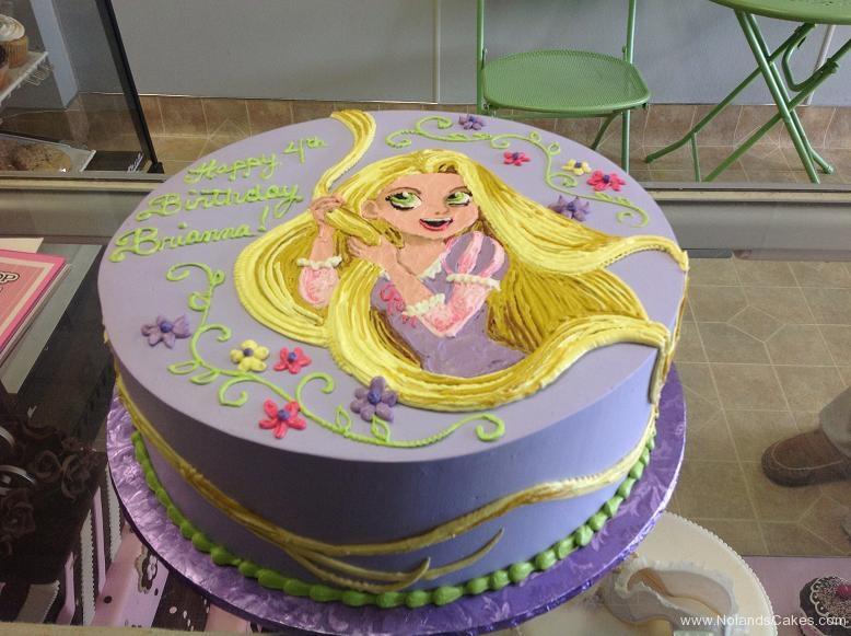 1135, 4th birthday, fourth birthday, disney, princess, tangled, rapunzel, purple, yellow, white