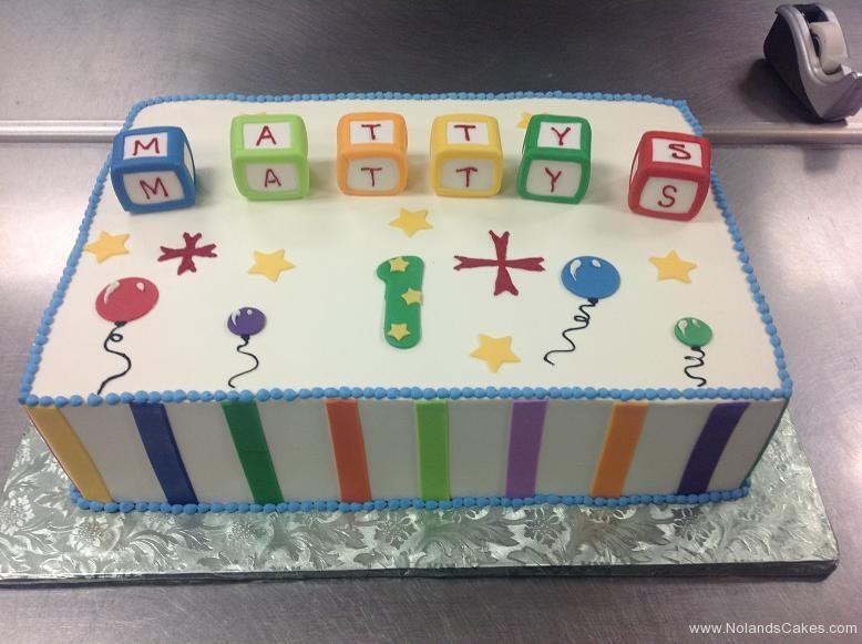 1196, first birthday, 1st birthday, blocks, primary, bright, white, stripe, stripes, balloon, balloons