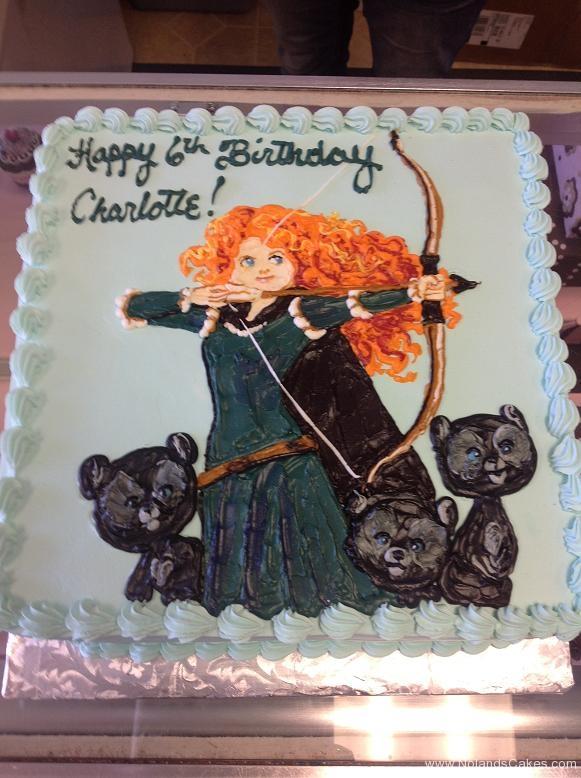 1250, sixth birthday, 6th birthday, brave, merida, bears, cubs, blue, disney, princess