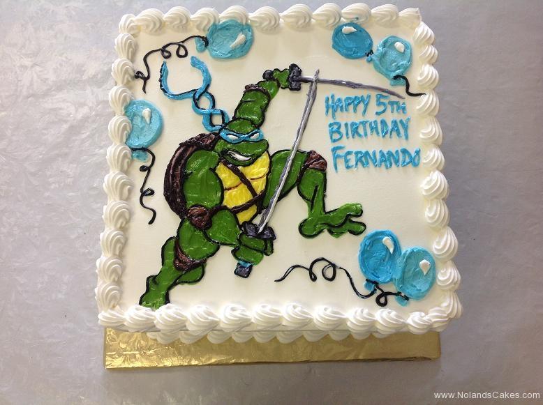 1321, 5th birthday, fifth birthday, tmnt, teenage mutant ninja turtles, turtle, leonardo, blue, green, white