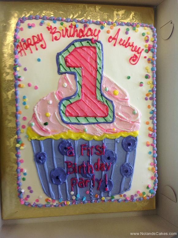 1346, first birthday, 1st birthday, cupcake, pink, purple, sprinkles
