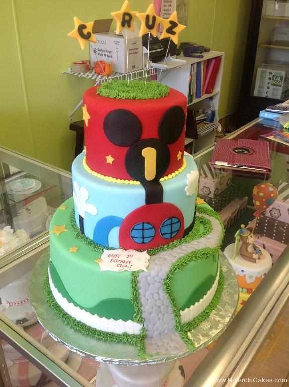 1364, first birthday, 1st birthday, mickey mouse, mickey, disney, mickey's playhouse, grass, ears, star, stars, red, blue, green