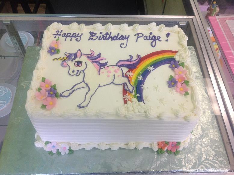 1386, birthday, unicorn, rainbow, flower, flowers, white