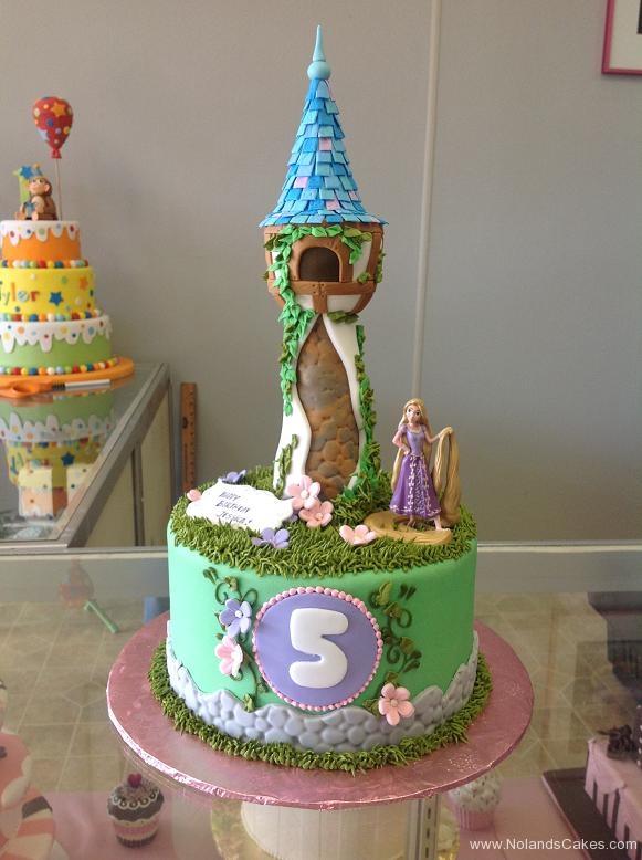 1557, 5th birthday, fifth birthday, tangled, rapunzel, tower, disney, disney princess, princess, green, brown, grass