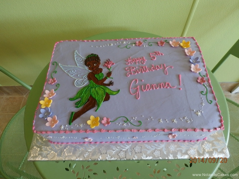 1669, 5th birthday, fifth birthday, tiana, princess and the frog, tinkerbell, peter pan, flower, flowers, purple, yellow, green