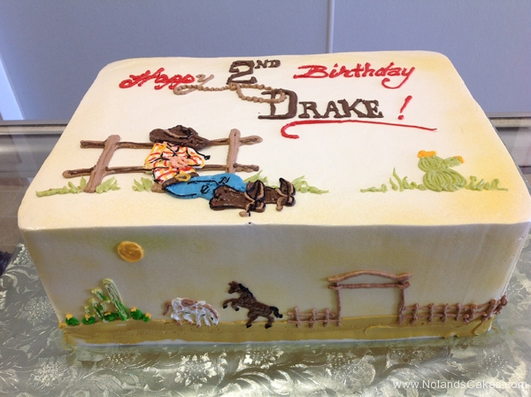 1751, 2nd birthday, second birthday, cowboy, horse, ranch, pasture, boots, hat, barn, cow, barnyard, brown, red, blue