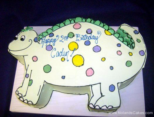1814, second birthday, 2nd birthday, dino, dinosaur, pastel, white, yellow, green, pink, carved