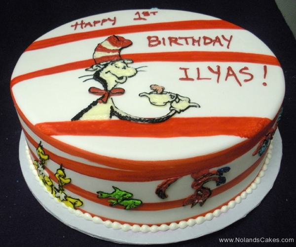 1863, birthday, dr seuss, seuss, cat in the hat, grinch, fish, horton hears a who, red, white, stripe