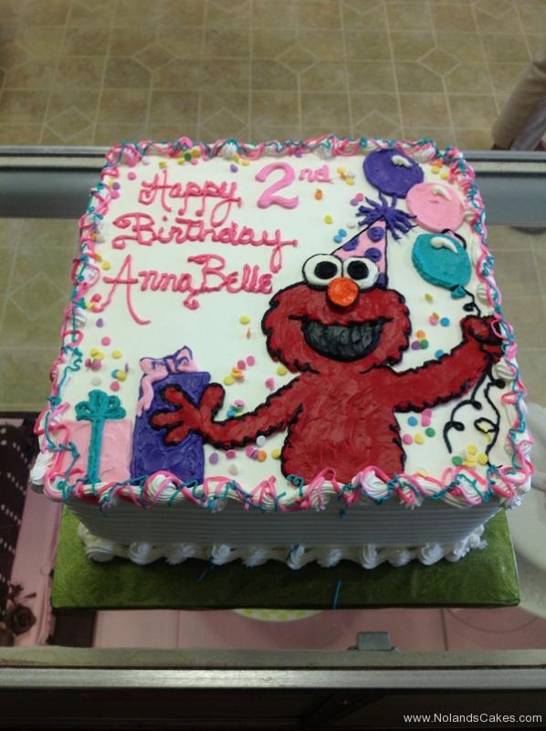 1892, second birthday, 2nd birthday, elmo, sesame street, balloon, balloons, present, presents, pink, white, purple