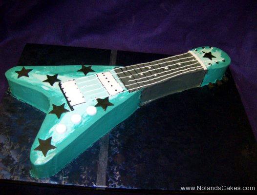 1940, birthday, guitar, star, stars, blue, music, carved
