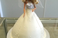 192, barbie, barbie cake, white, dress, birthday, carved