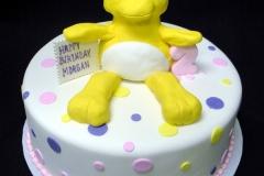267, birthday, 2nd birthday, second birthday, duck, duckie, dots, polka dots, white, yellow, pink, purple, blue
