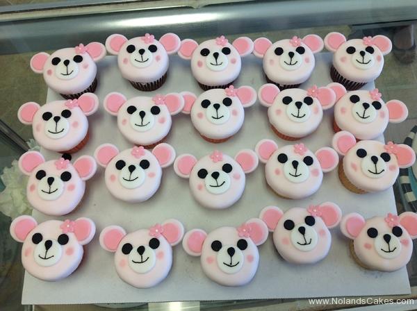 505, pink, white, bear, mouse, ears, black, animal, girl, girly